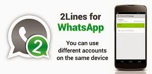 2 Whatsapp கணக்குகளை  ஒரு  மொபைலில்  பயன்படுத்தலாம்