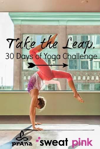 Prana + Sweat Pink Take the Leap Challenge