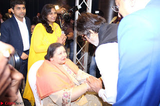 Amitabh Bachchan Launches Worlds 1st Mobile App Abc Of  Health 005.JPG