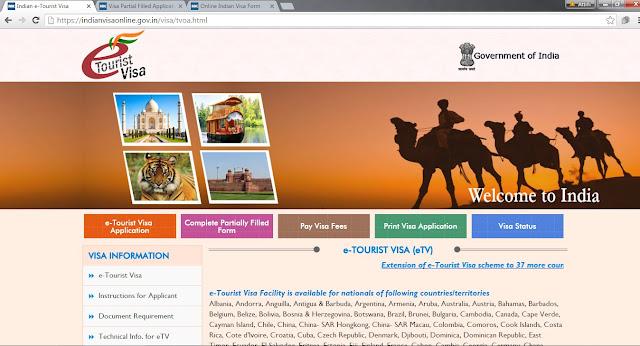 e-Tourist Visa India
