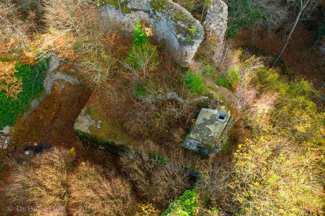 Abri & observatoire d'artillerie au sein du château du Schwarzenbourg