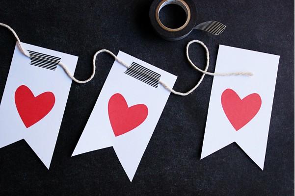 La guarida de bam mesas para dos en san valentin - Como hacer adornos de san valentin ...