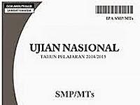 Berkas Soal UN SMP Tahun 2014