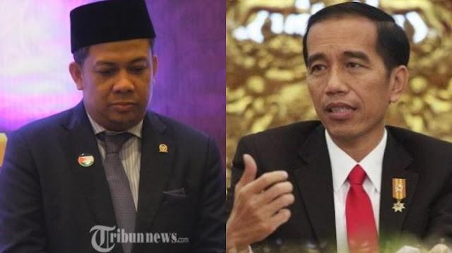 Serba Repot Di PKS, Fahri Hamzah Merapat Ke Pak Jokowi?