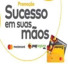 """Cadastrar Promoção Mastercard PagSeguro 2019 """"Sucesso Em Suas Mãos"""""""