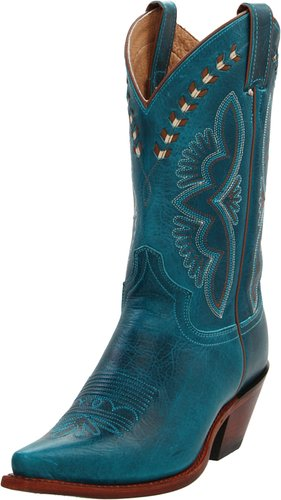 b8e7812f0fe Turquoise Cowboy Boots for Women--Even Wide Calf Styles   Total Fab
