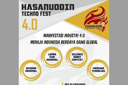 Event Hasanuddin Techno Fest 4.0 2018 Mahasiswa