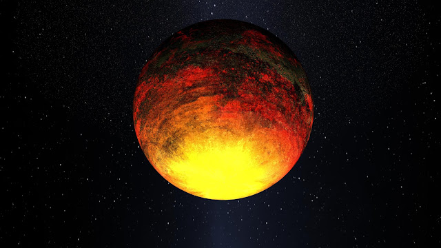 Kepler-10b: A Scorched World
