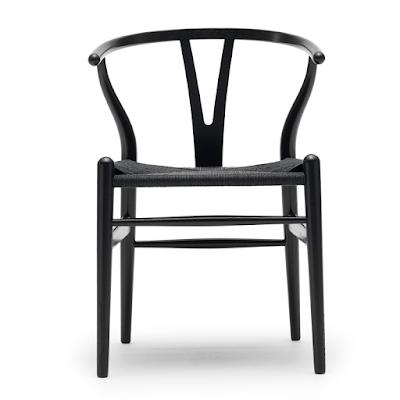 silla Y, Y chair, wishbone chair, silla de diseñador, silla famosa
