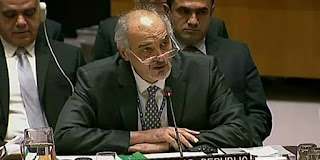 Syria's Permanent Representative to the UN Dr. Bashar al-Jaafari