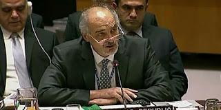 Syria's Permanent Representative to the UN Dr. Bashar al-Jaafari
