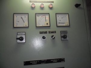 Appointment of indicators insulation meter after the repair on panel AC230 Incoming and Feeder.