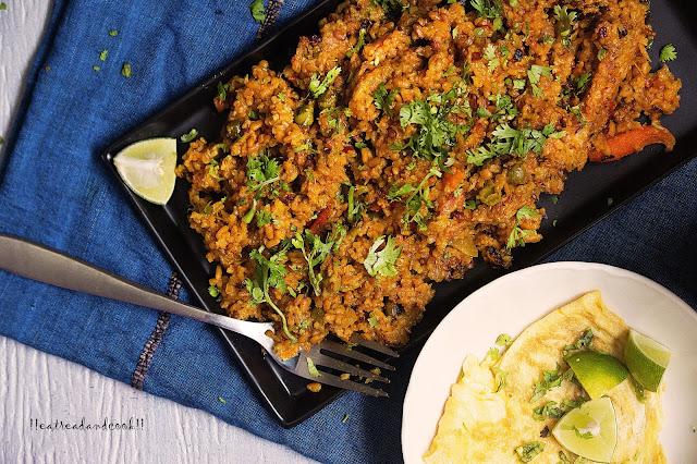 how to make bengali bhuna khichuri / bhuna khichdi / bhuni khichuri recipe and preparation with step by step pictures