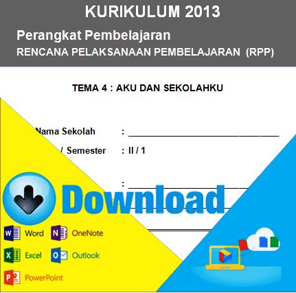 Download Rpp Kurikulum 2013 Kelas 2 Sd Tema Aku Dan Sekolahku Semester 1 File Sekolah