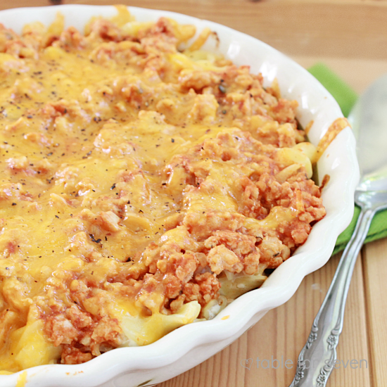 Turkey Noodle Bake