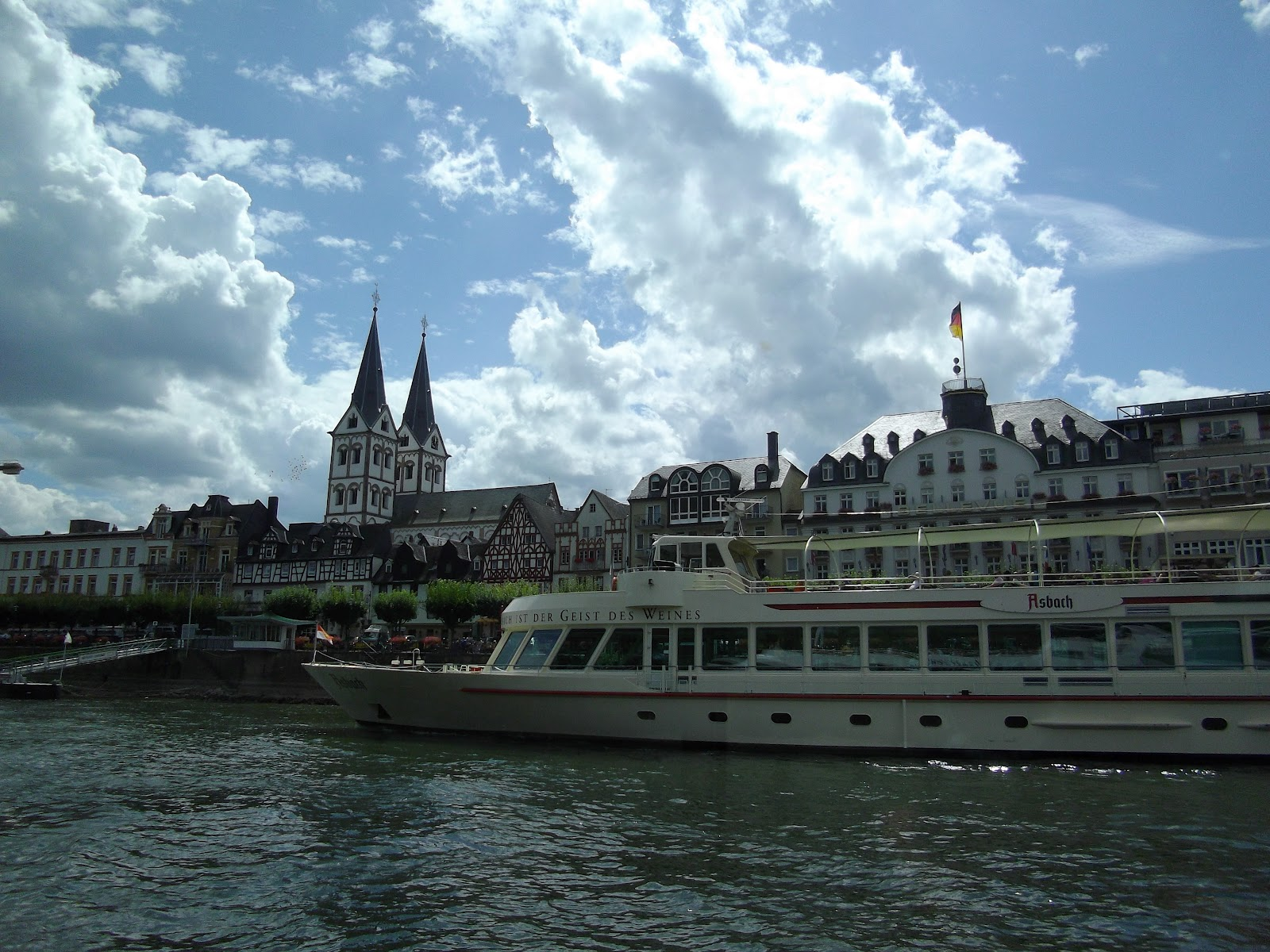 Boat trip on the Rhine - part 1 | Life in Luxembourg