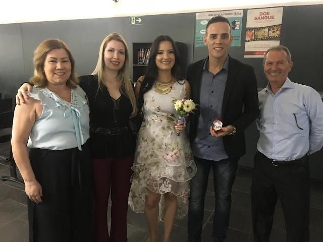 familia da noiva no cartorio