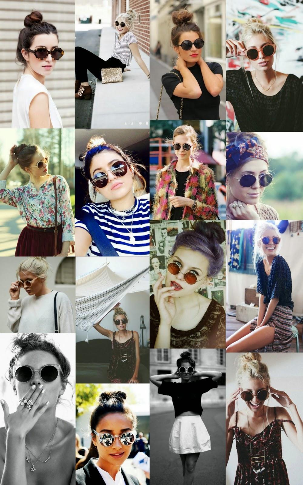 Meu jeito preferido de usar é com coque bagunçadinho, to in love (e  desejando os tais óculos, porque não tenho haha). b7ae975f63