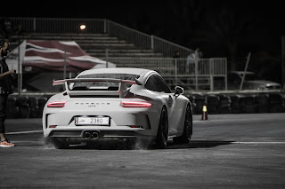 Spotted 2018 Porsche GT3 in Qatar Racing Club