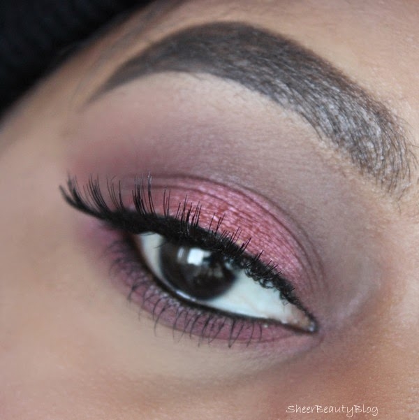 mac cranberry makeup