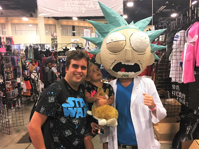 These three make me the happiest person ever. Looey, Leia, and Rick Sanchez.