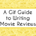 A Gif Guide to Writing Movie Reviews