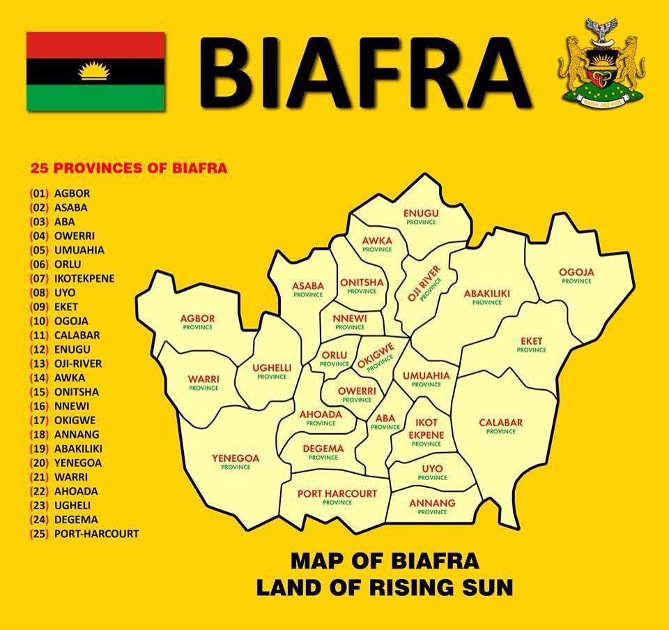 ipob has abolished states in biafra land