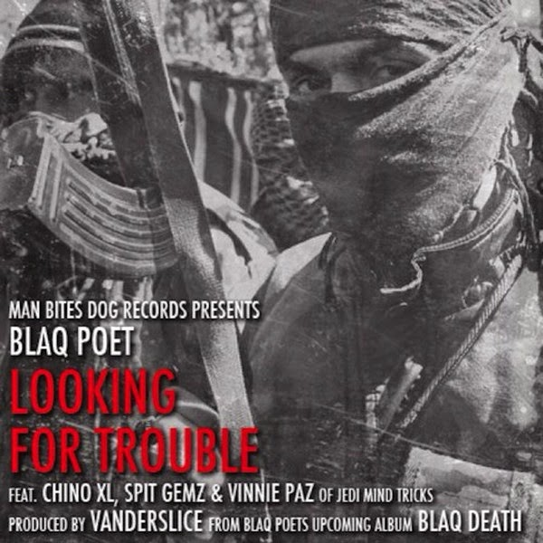 Blaq Poet - Looking for Trouble - EP  Cover