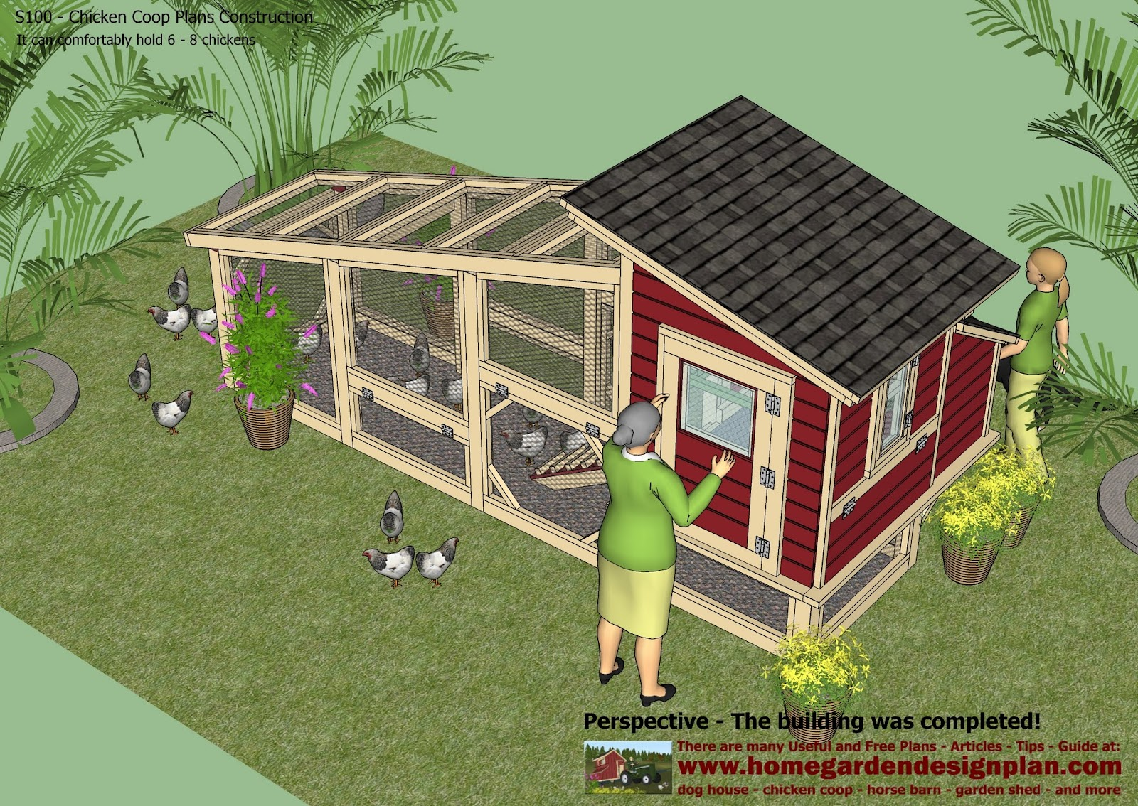 Chicken Coop Design - How To Build A Chicken Coop