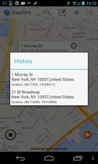 Fake GPS Location Spoofer Pro Versi 4.7 Apk Terbaru