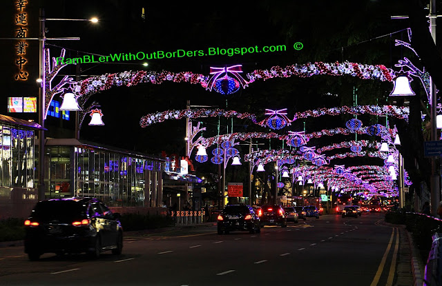 Christmas displays and decorations, Orchard Road, Singapore