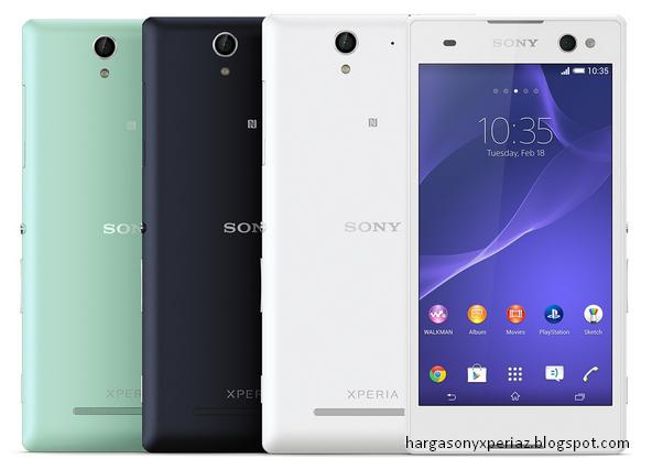 Kelebihan dan kekurangan Sony Xperia C3 Dual D2502 Terbaru