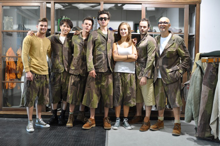0991c9fe60e2d0 Back in July Nigel Cabourn and the crew set up camp at the Bread   Butter  trade show in Berlin to showcase the spring-summer collection which is  filtering ...