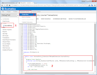 Acumatica Extension Library