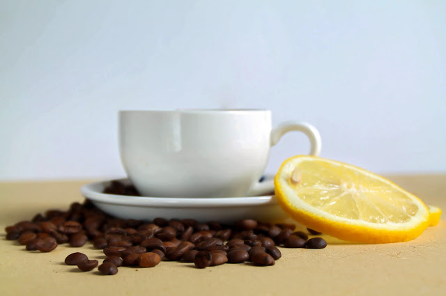 Café et citron