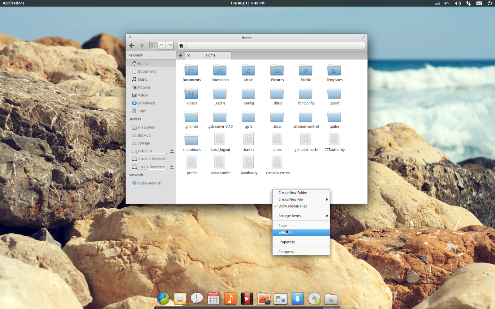 jfn linux project: 2013