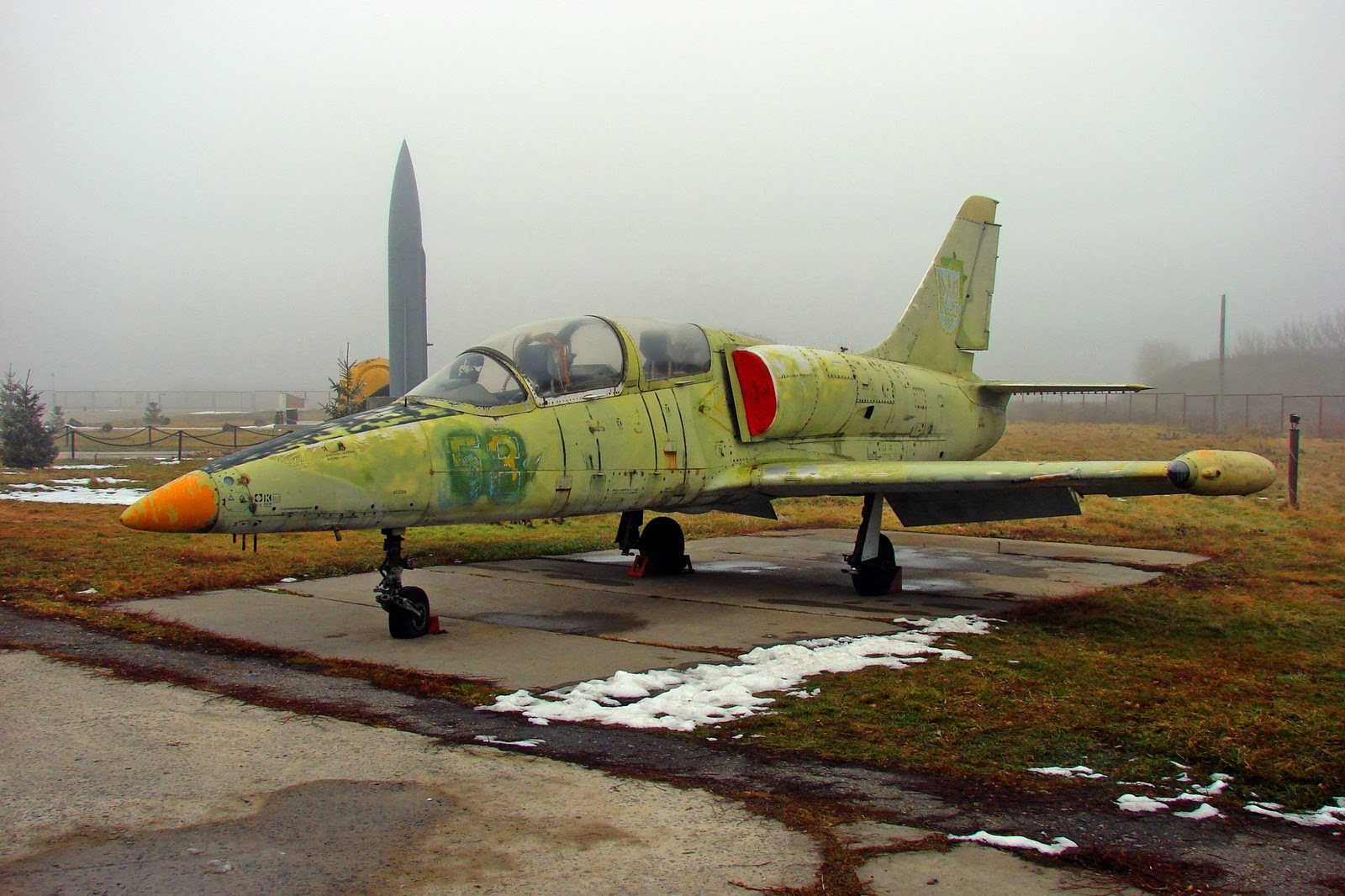 Учебно-боевой самолёт Л-39