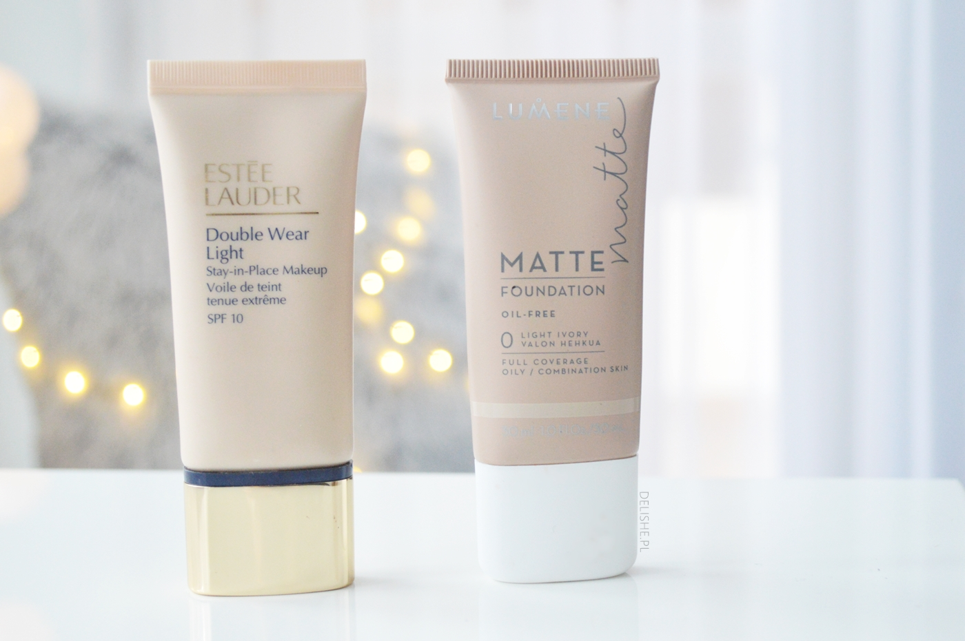estee lauder double wear light lumene matte