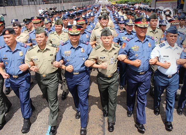 Ex-DILG Secretary proposes means to iron out PNP and AFP