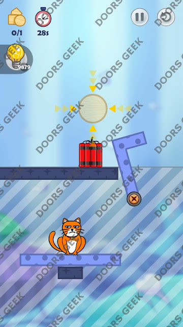 Hello Cats Level 41 Solution, Cheats, Walkthrough 3 Stars for Android and iOS
