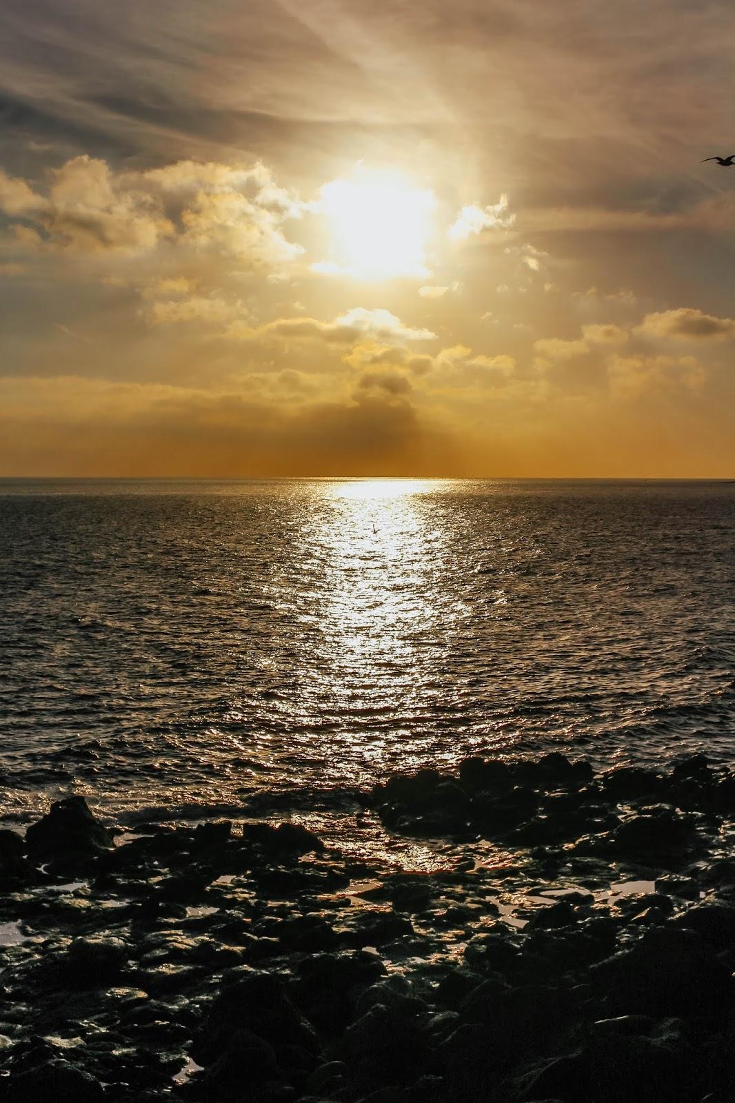 Lanzarote Playa Blanca Sea Beach Sunset