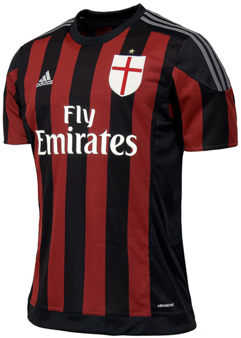 bcd7cd0756 Adidas divulga novas camisas do Milan - Show de Camisas