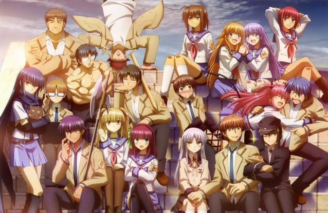 Angel Beats Daftar Anime Isekai Terbaik ( Tokoh Utama Masuk Dunia Lain )