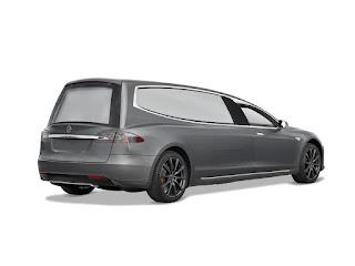 Limousine funéraire électrique