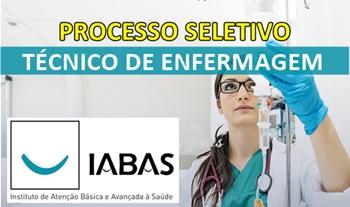 Concurso IABAS-RJ 2017 Técnico de Enfermagem