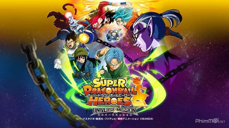 Bảy Viên Ngọc Rồng: Hành Tinh Ngục Tù - Super Dragon Ball Heroes (Phim 2018)