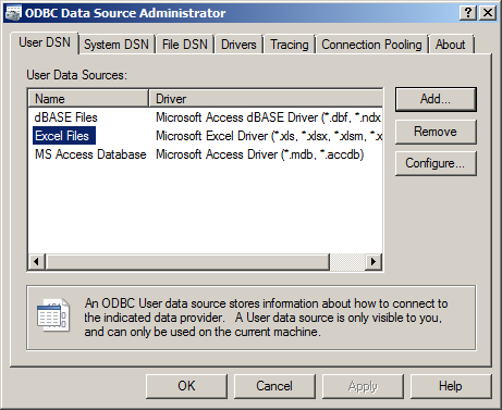 BI Future Blog: SSRS: Building a report on an excel