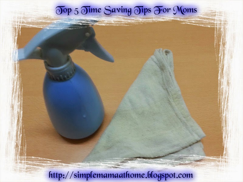 Top 5 Time Saving Tips For Moms