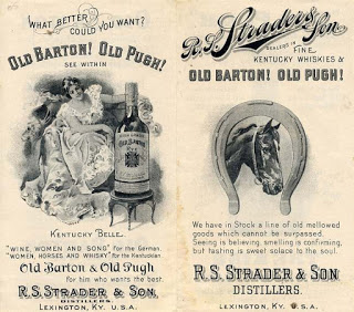 Those Pre-Pro Whiskey Men!: Whiskey Men and Horse Racing
