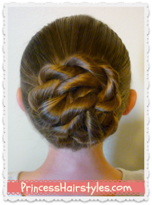 Back To School Hairstyles The Twisted Knot Bun